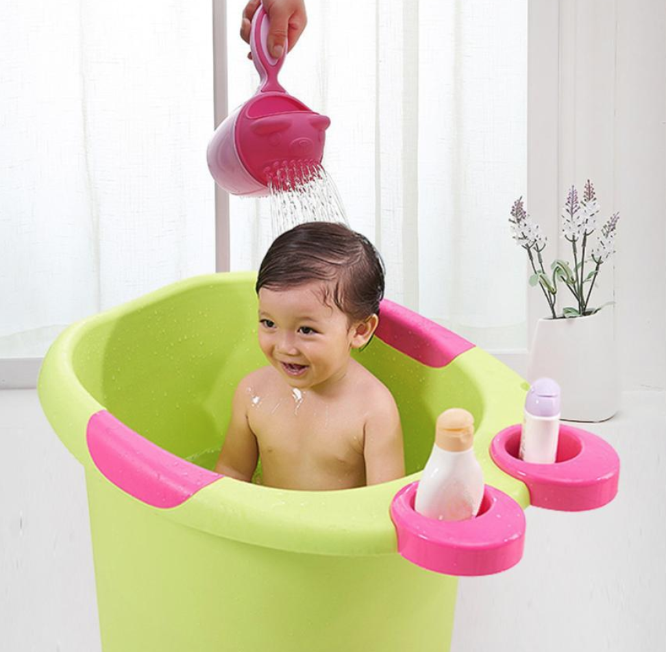 Baby Spoon Shower Bath Water Swimming Bailer Shampoo Cup | Alizbay ...