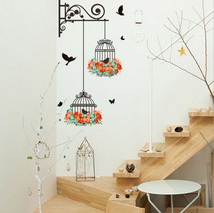 Birds Wall Stickers For Kids Rooms Bird And Bedroom Living Room Wall