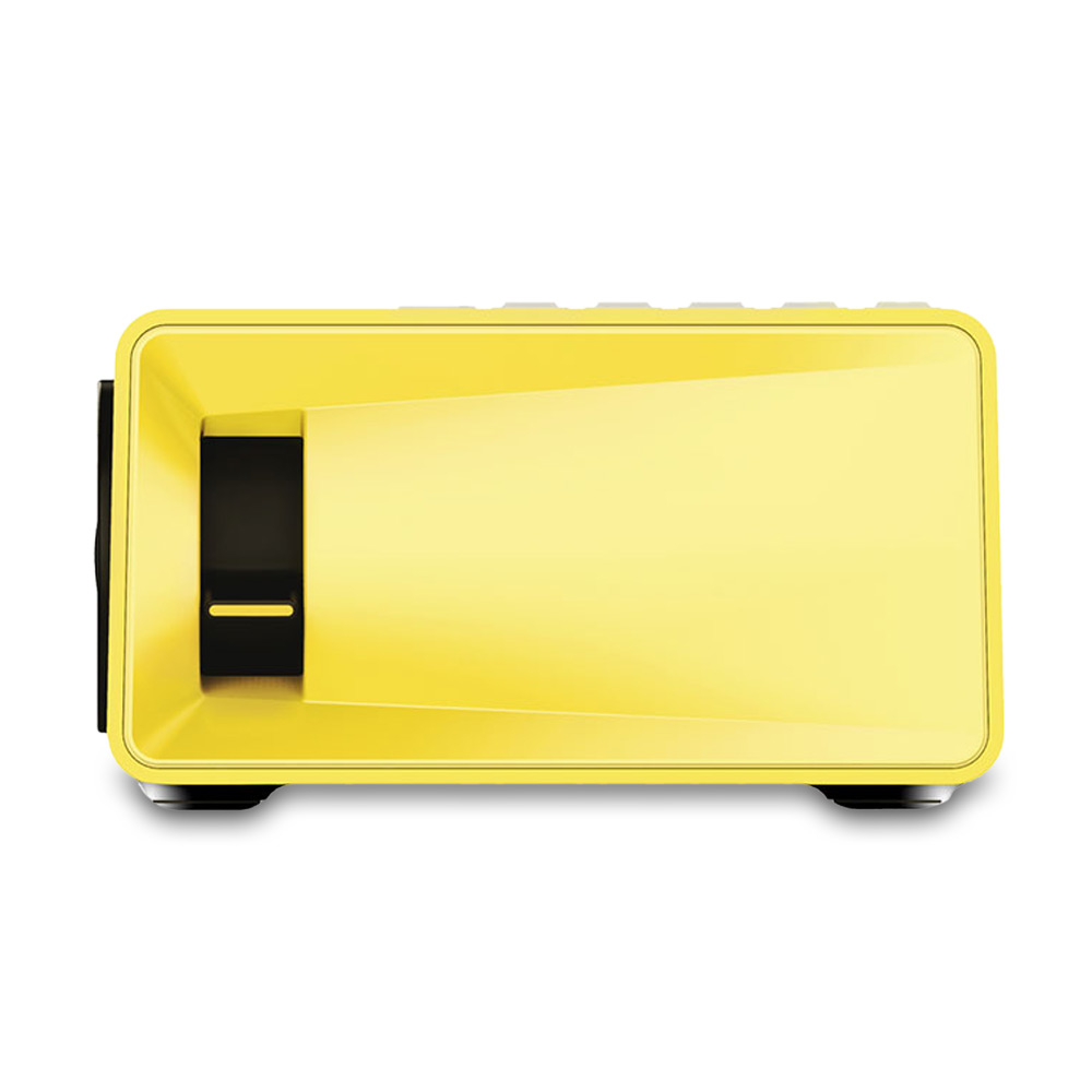 Mini Portable LCD Projector 1080P With AV/USB/SD Card/HDMI Build-in ...